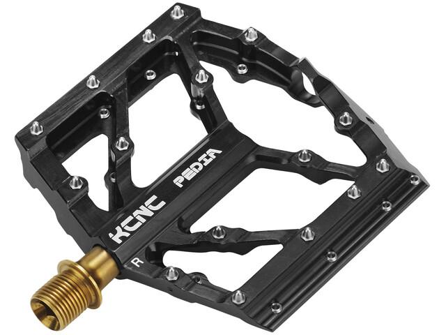 KCNC Slim MTB/BMX Pedia Plattform Pedale SS/TiN Spindle black